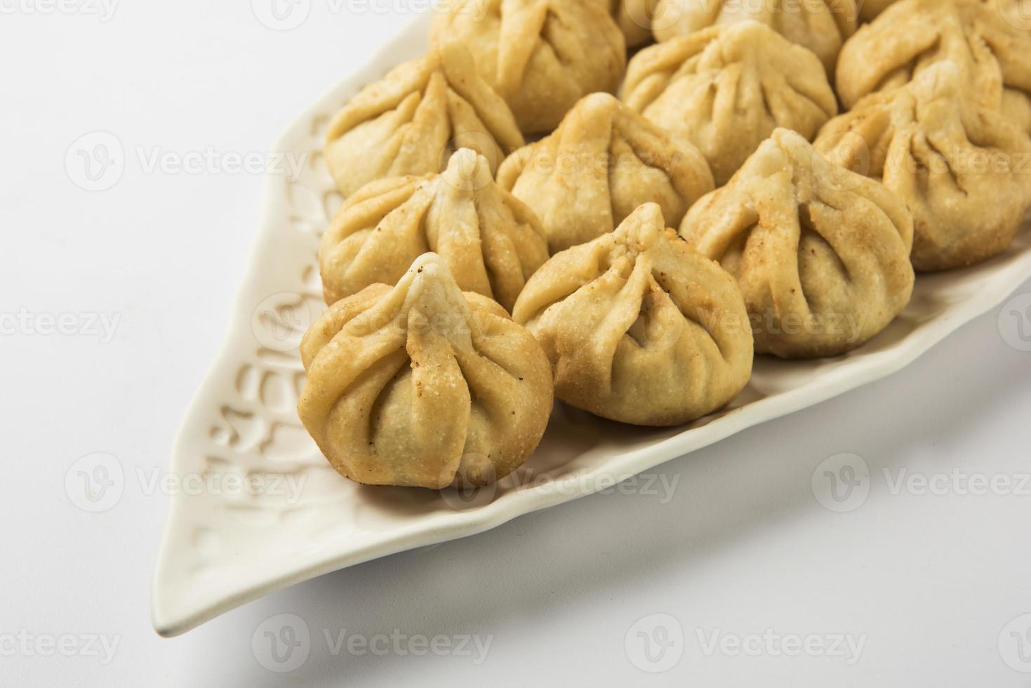 """heilig recept genaamd """"modak"""", indisch zoet foto"""