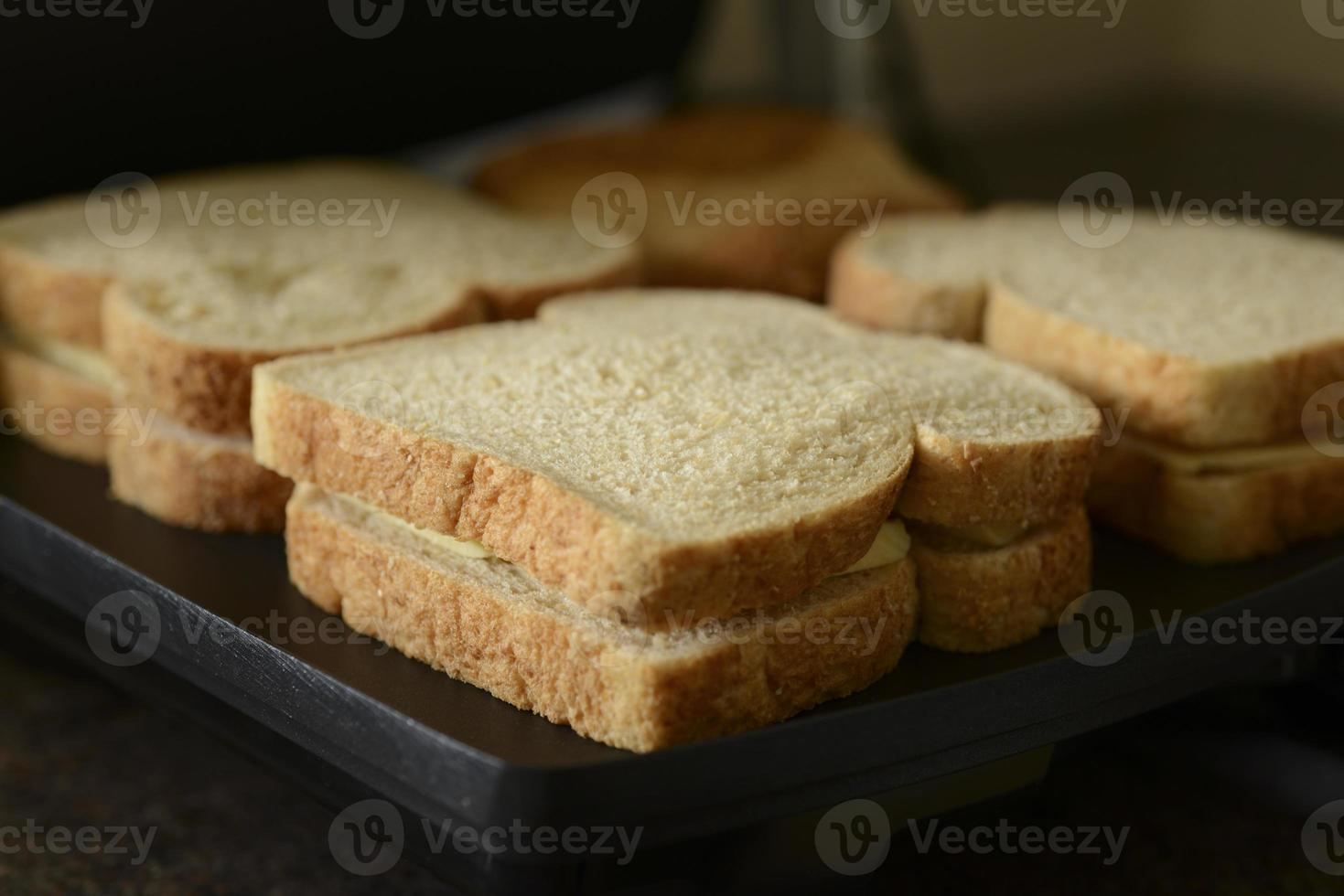 sandwich met geroosterde kaas foto
