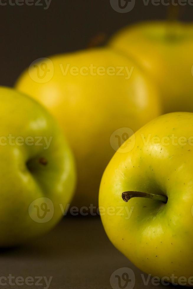 gouden heerlijke appels foto