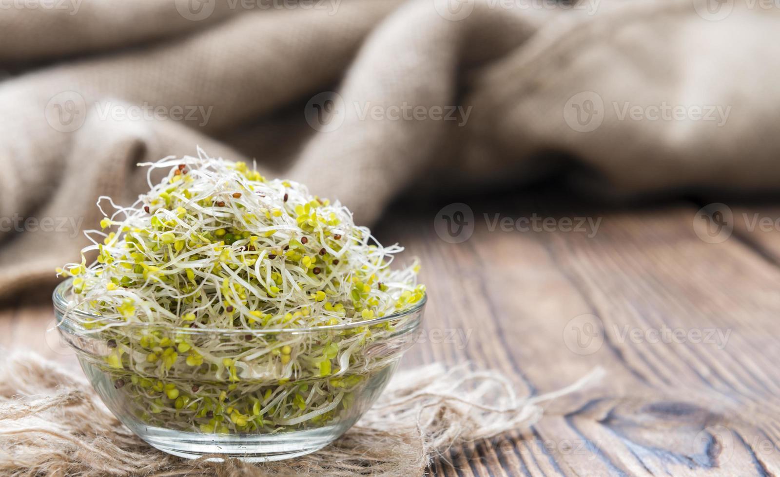 broccoli spruiten foto