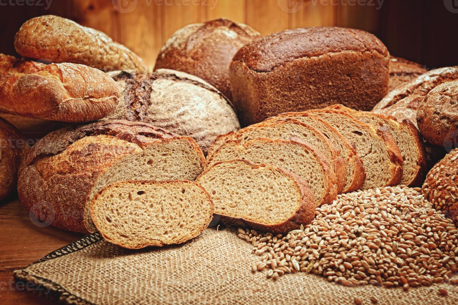 de broodjes foto