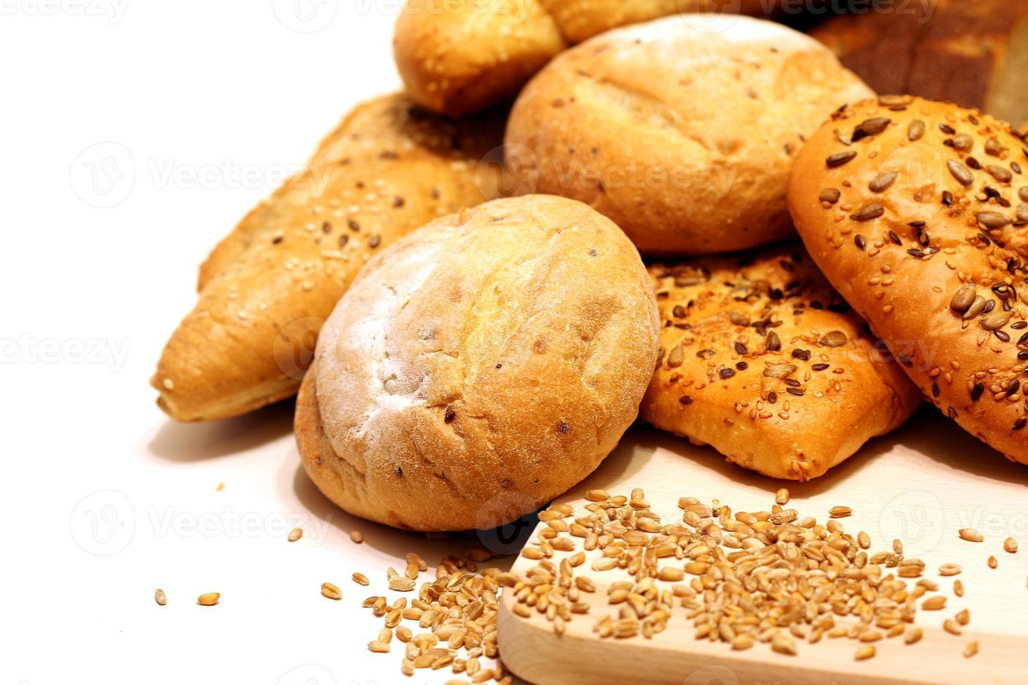 assortiment van brood foto