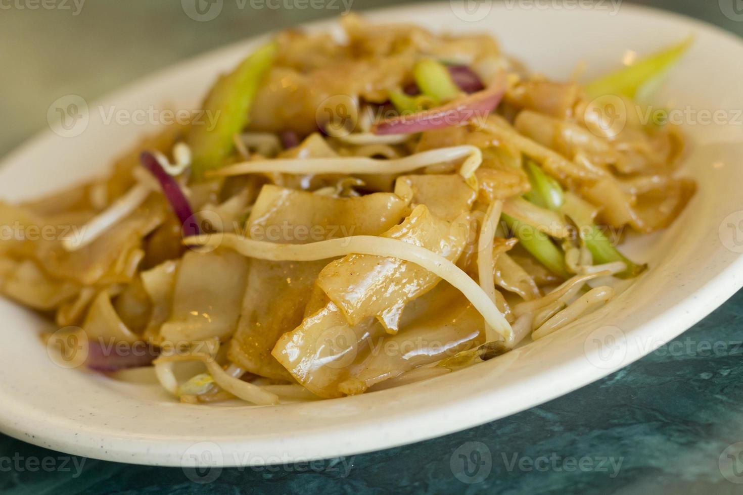 groente pad thai foto