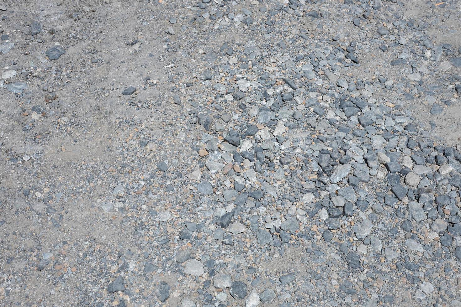 stenen weg, rotsachtige weg, kiezelweg foto