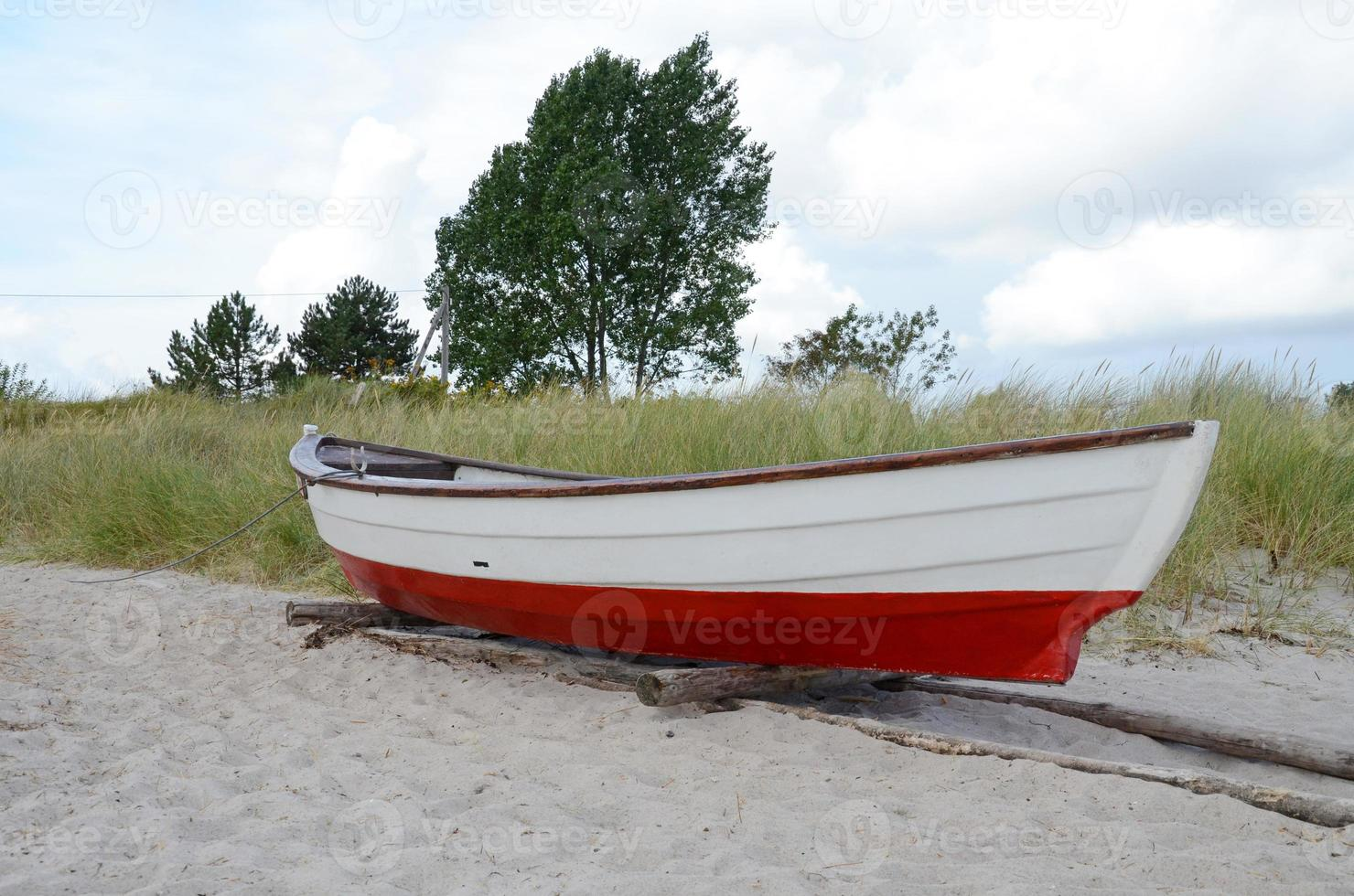 oude vissersboot foto