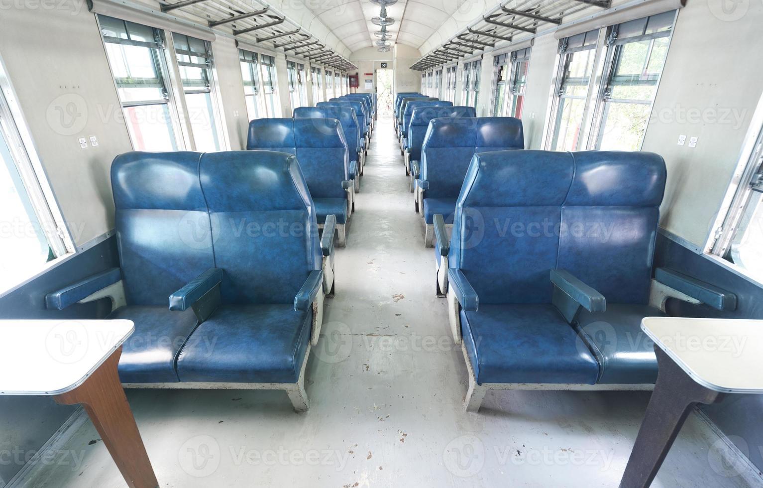 trein interieur foto
