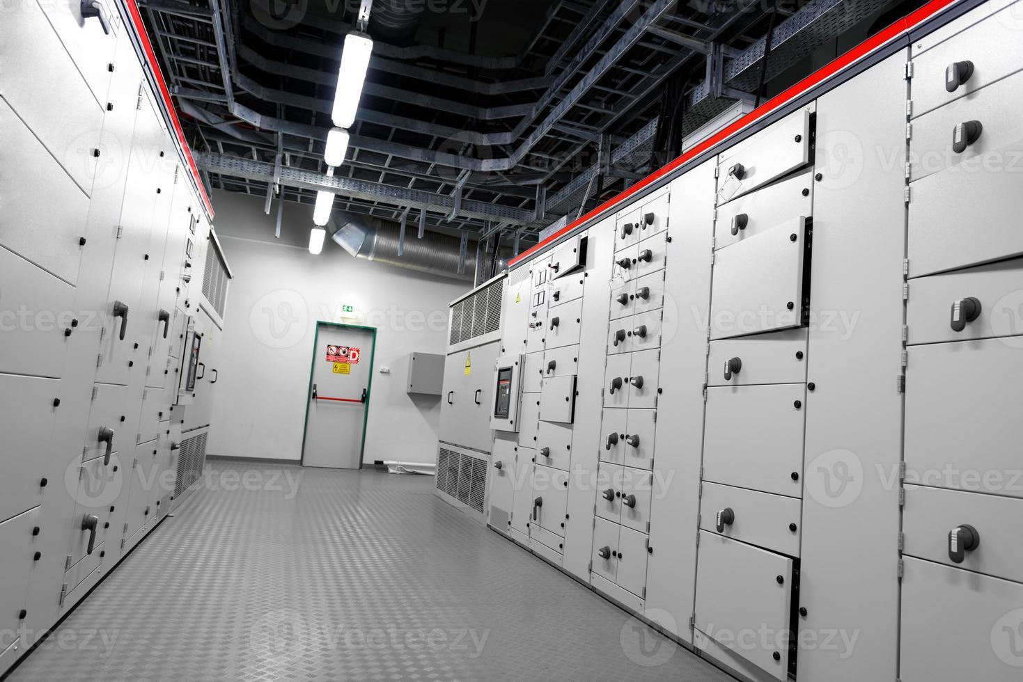 controlekamer van een elektriciteitscentrale foto