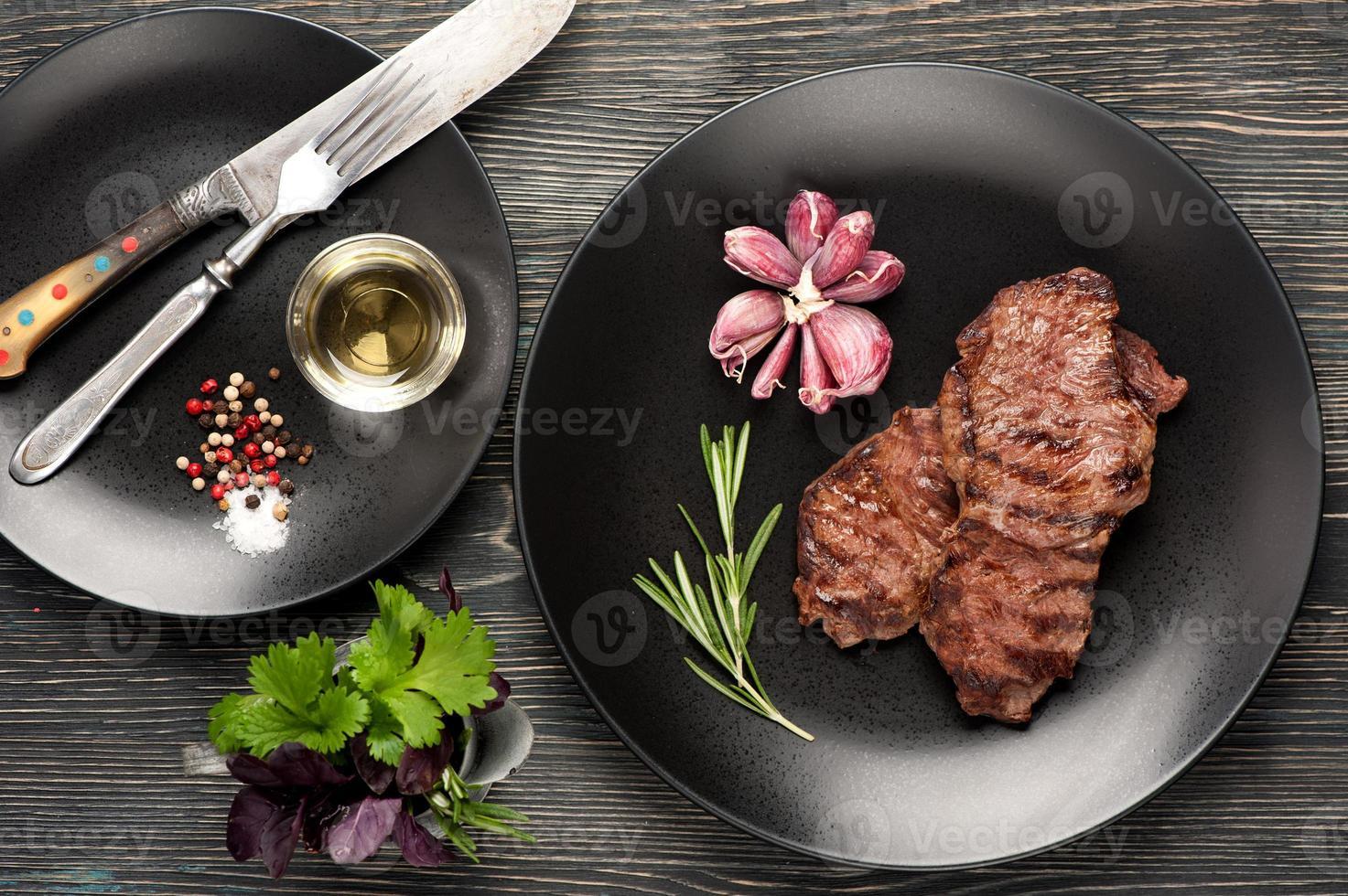 entrecote van ribeye steak foto