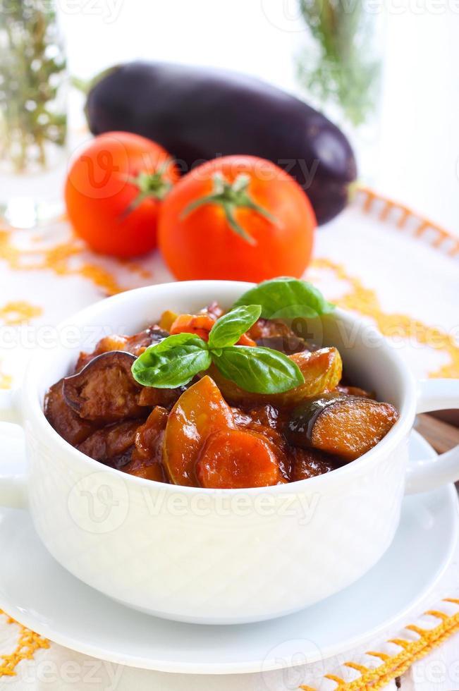 groente stoofpot foto