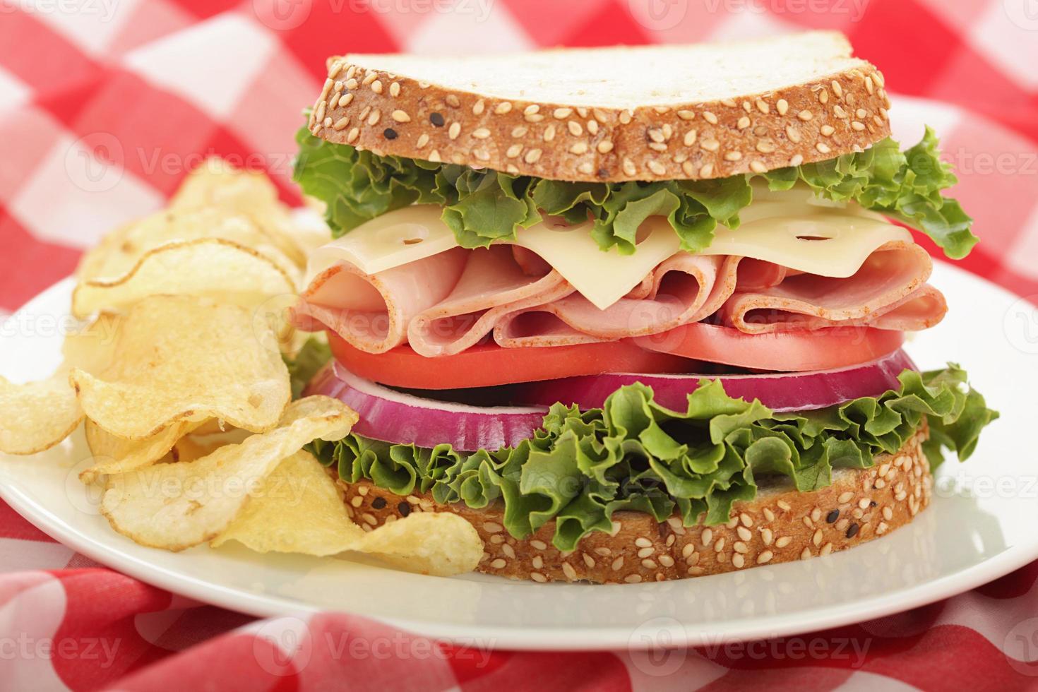 sandwich perfectie foto