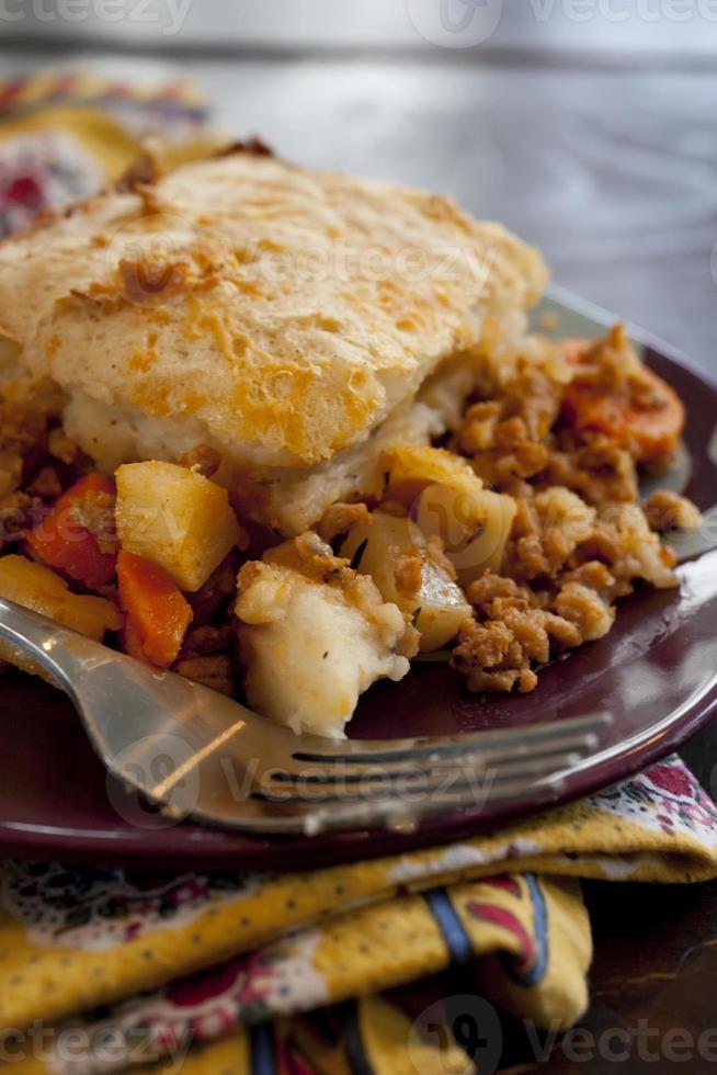 Engelse cottage pie foto