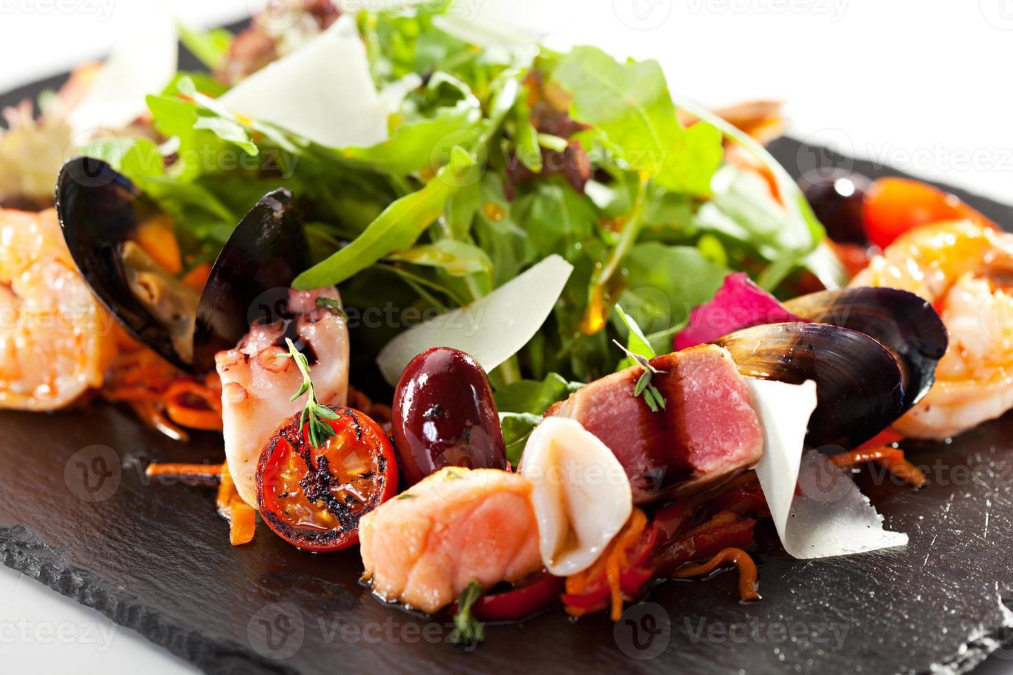 zeevruchten salade foto
