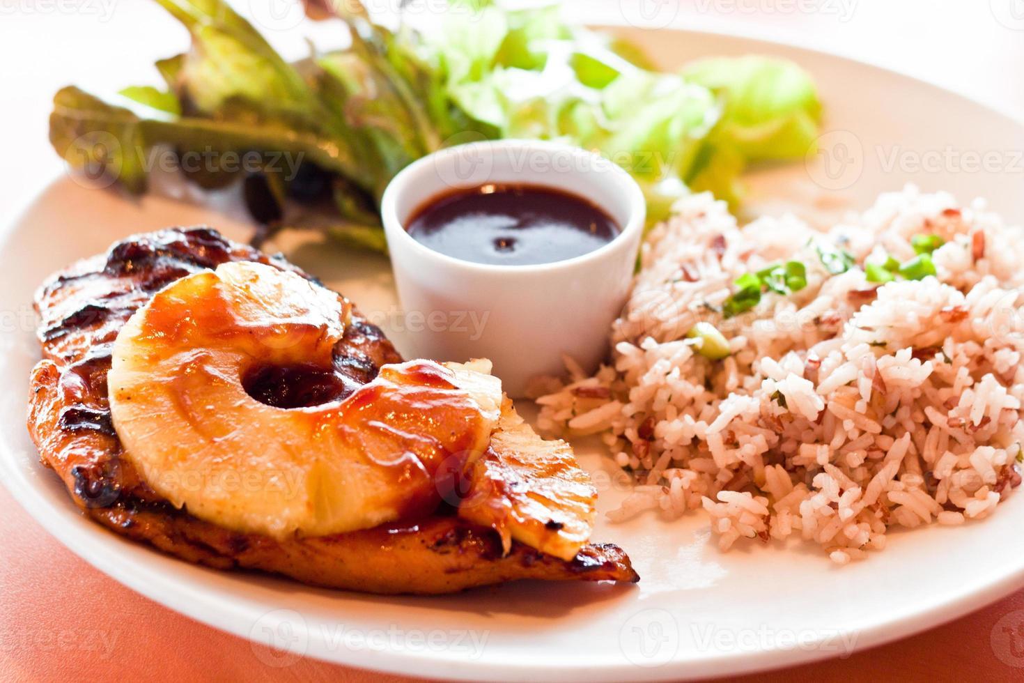 gastronomische gegrilde biefstuk foto