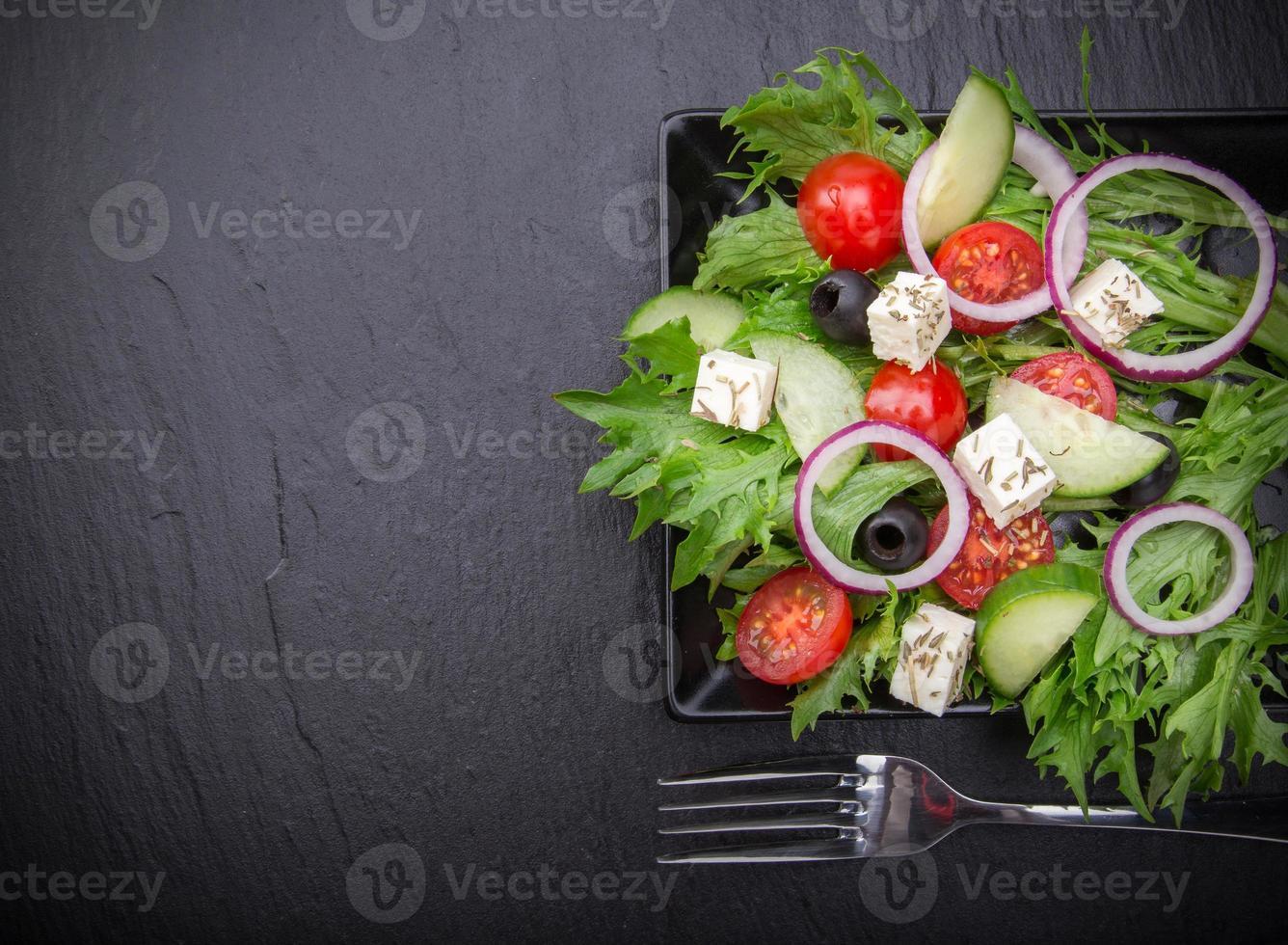 verse smakelijke salade foto