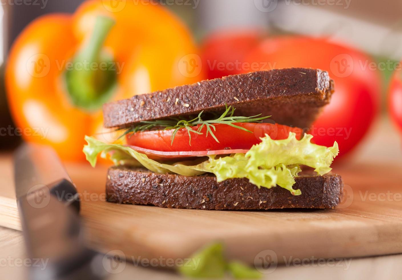 grote sandwich foto