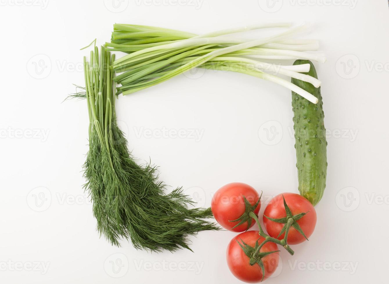plantaardig frame foto