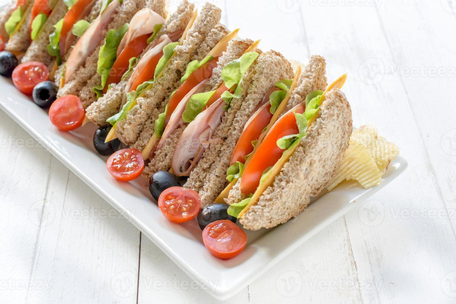 sandwich tijd foto