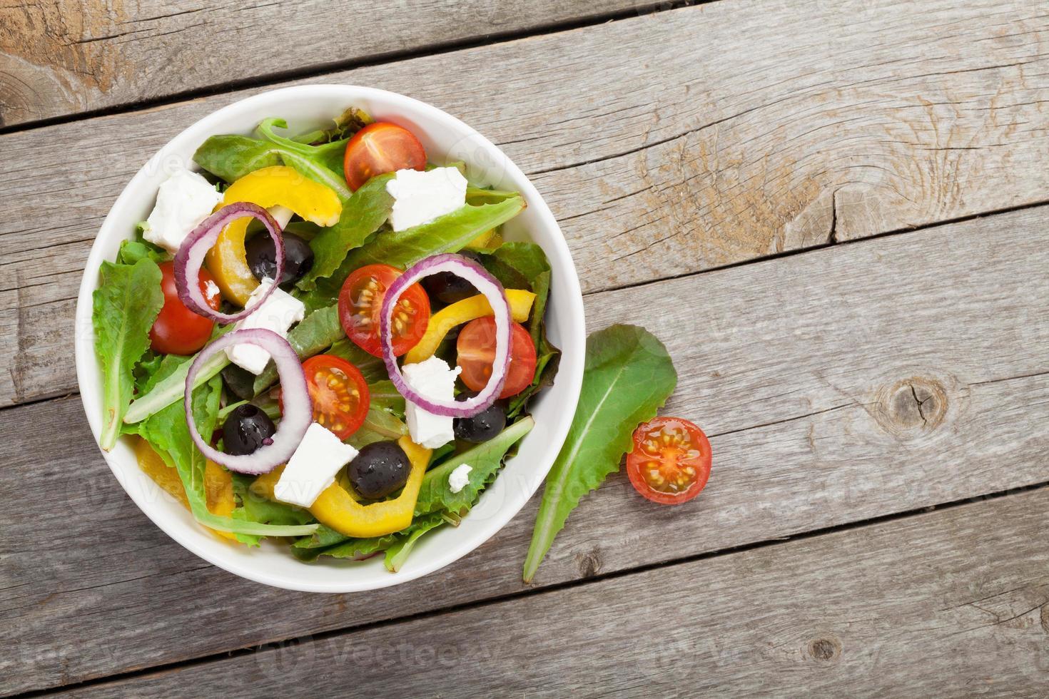 verse, gezonde salade foto