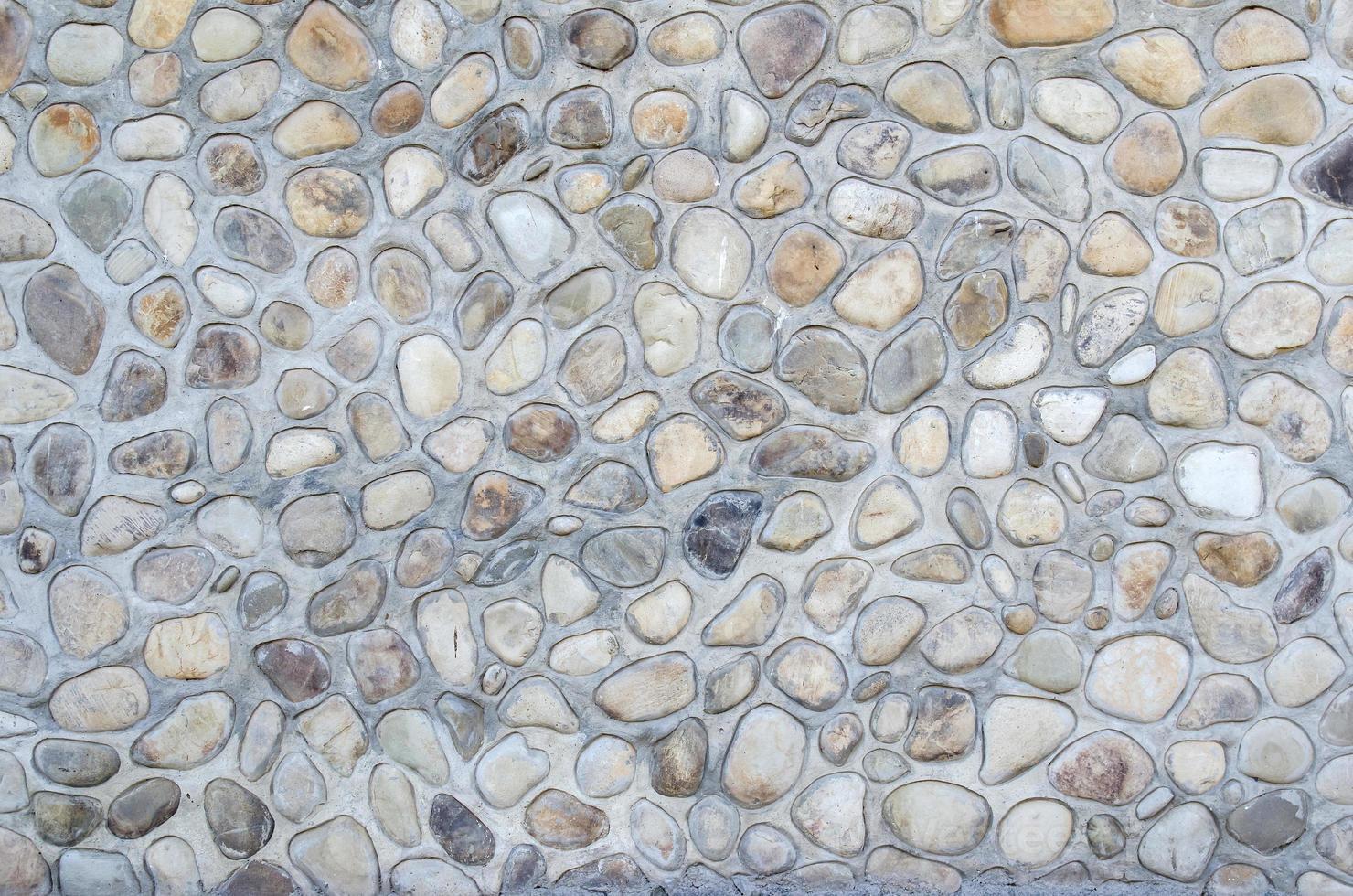 ronde steen rock textuur foto