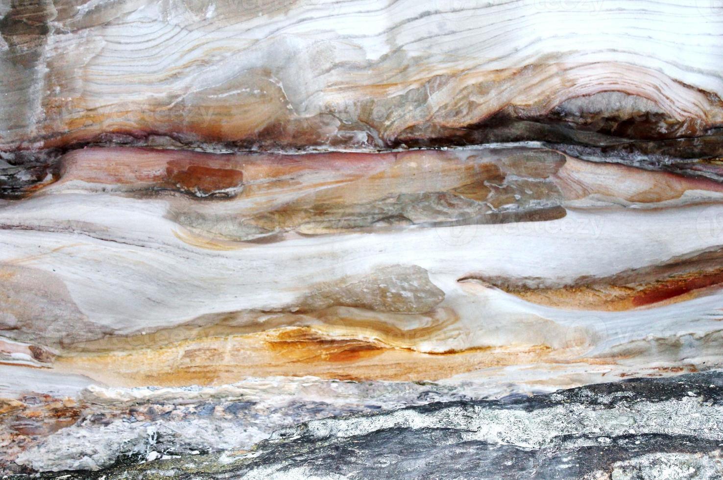 natuurlijke rots in de grot foto