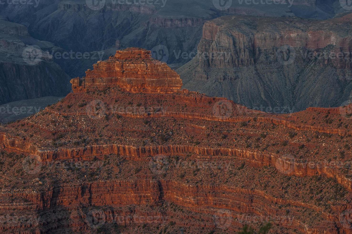 Grand Canyon rotsformatie foto