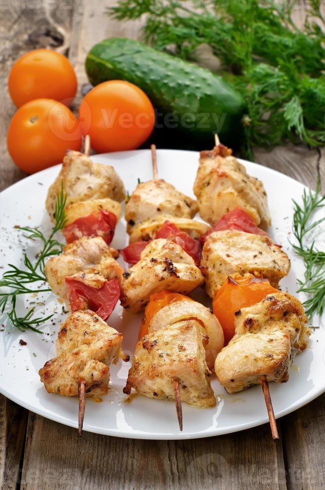 kip shish kebab foto