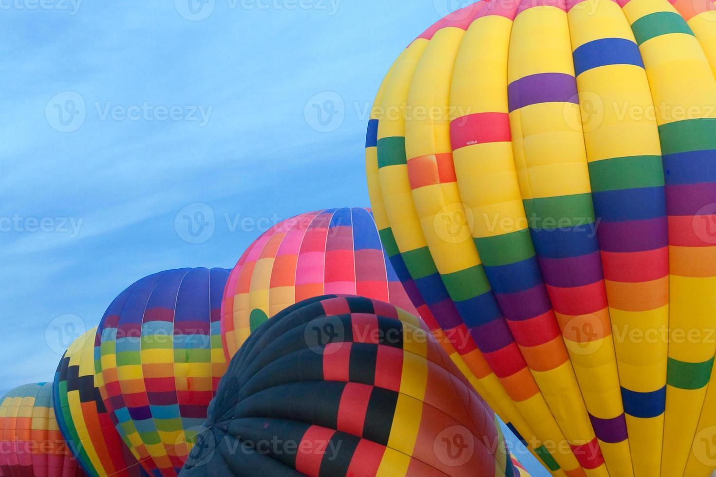 hete lucht ballonnen foto