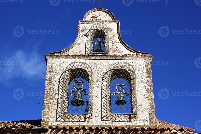 Mexicaanse kerktoren foto