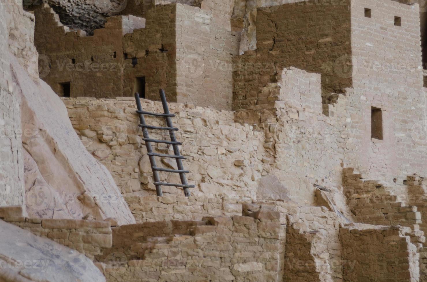 mesa verde ladder close up foto