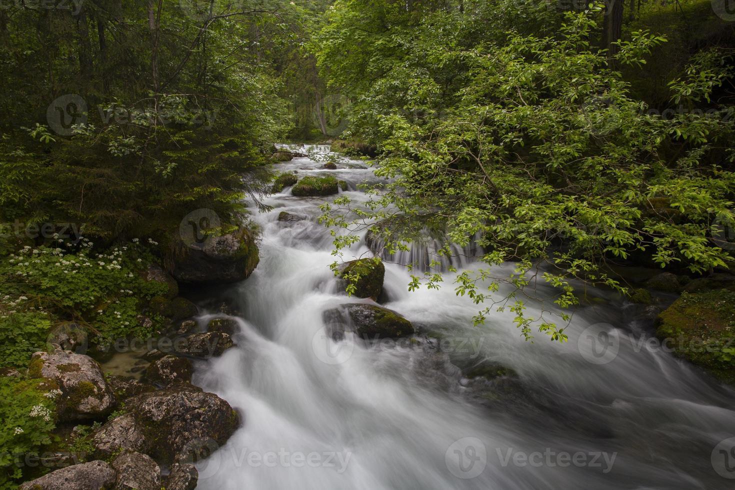 Schwarzbach rivier foto