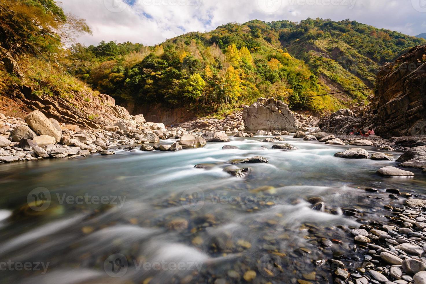 stromende rivier foto