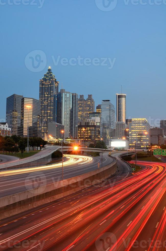 het centrum van Atlanta Georgië foto