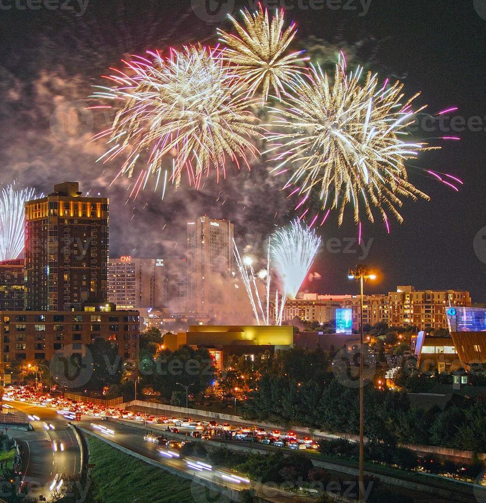 4 juli Atlanta GA 2014 foto