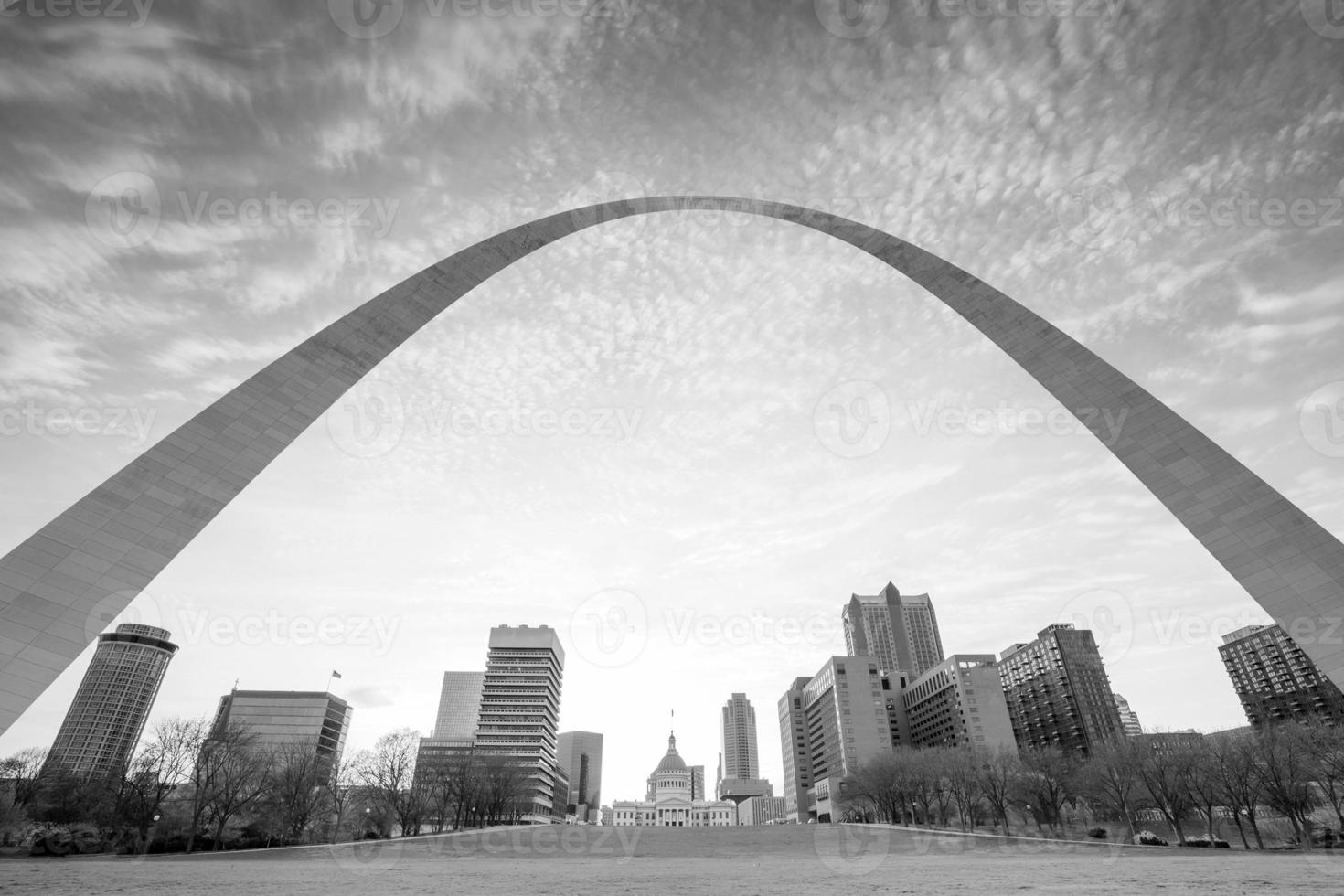 stad van st. Louis skyline foto