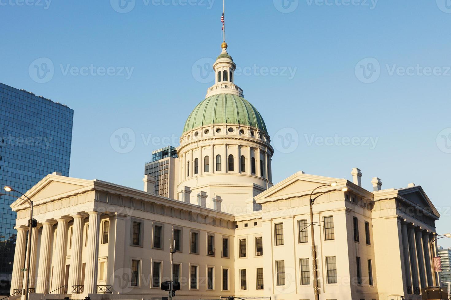 oud gerechtsgebouw in st. louis st. Louis, Missouri foto