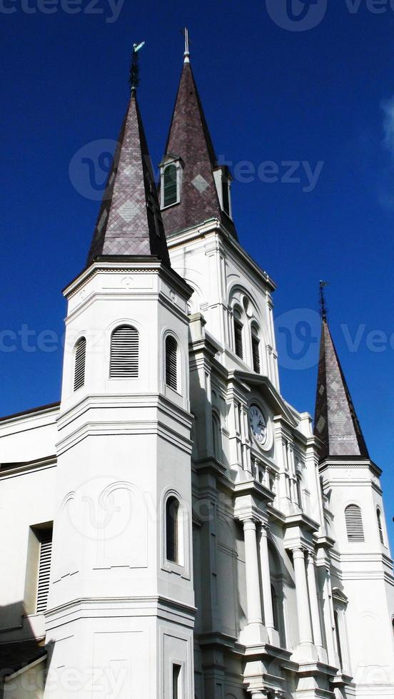 st. louis kathedraal new orleans foto