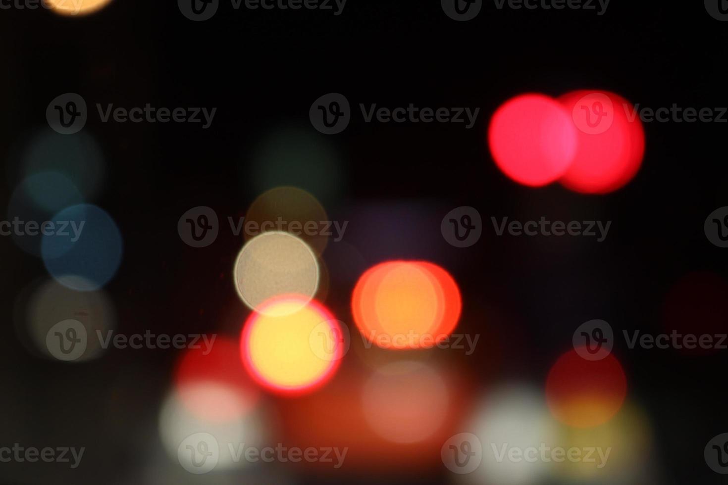 abstract beeld van lichten foto