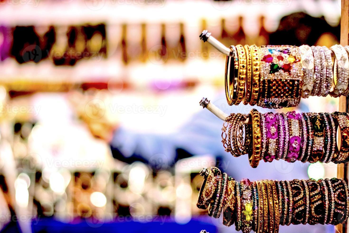Indiase armbanden foto