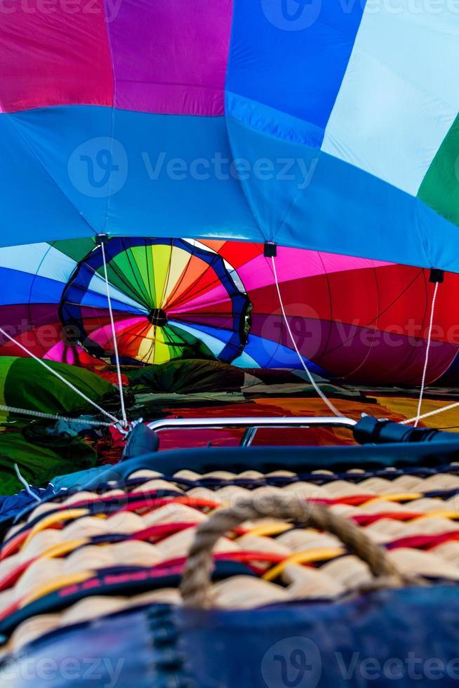 heteluchtballon festival foto