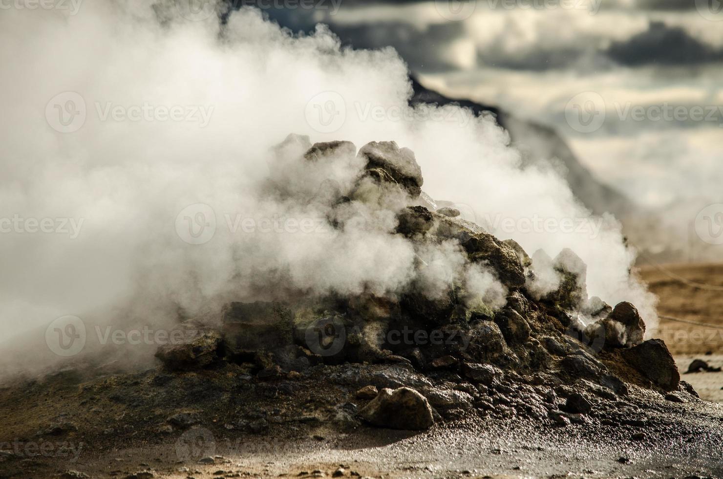 fumarole - IJsland foto