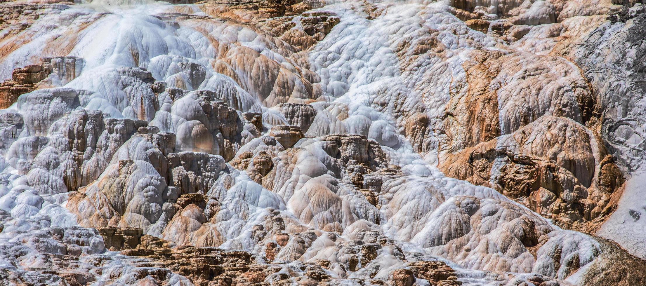 detail van minerale afzetting foto