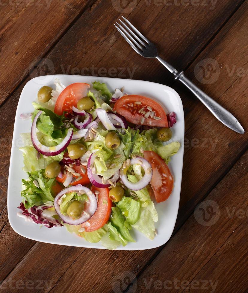 lente salade foto