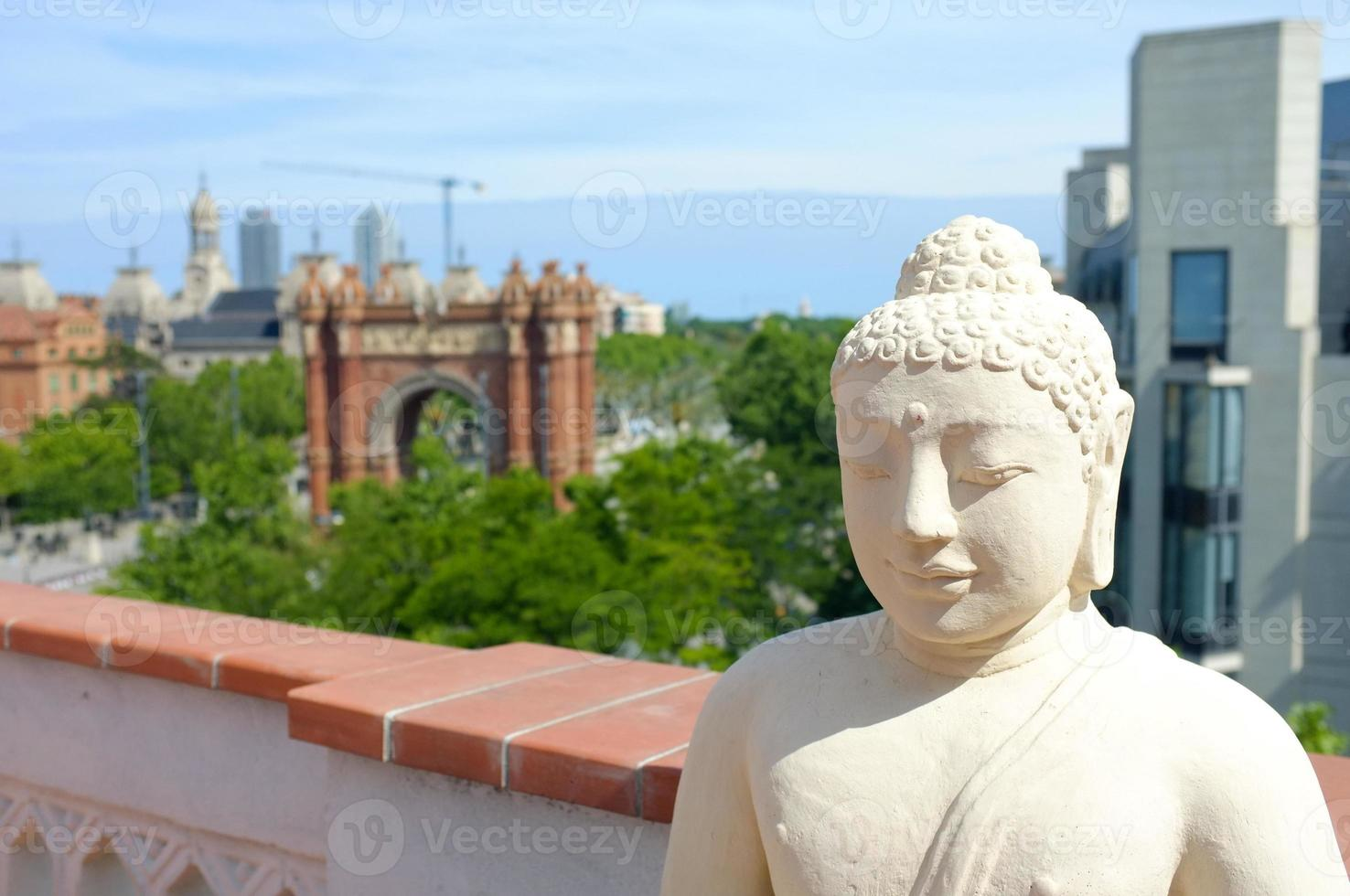 Boeddha in barcelona foto