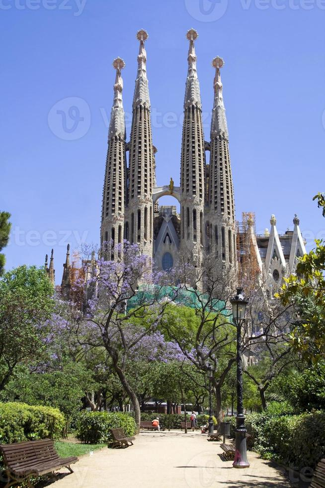 sagrada familia (barcelona) foto