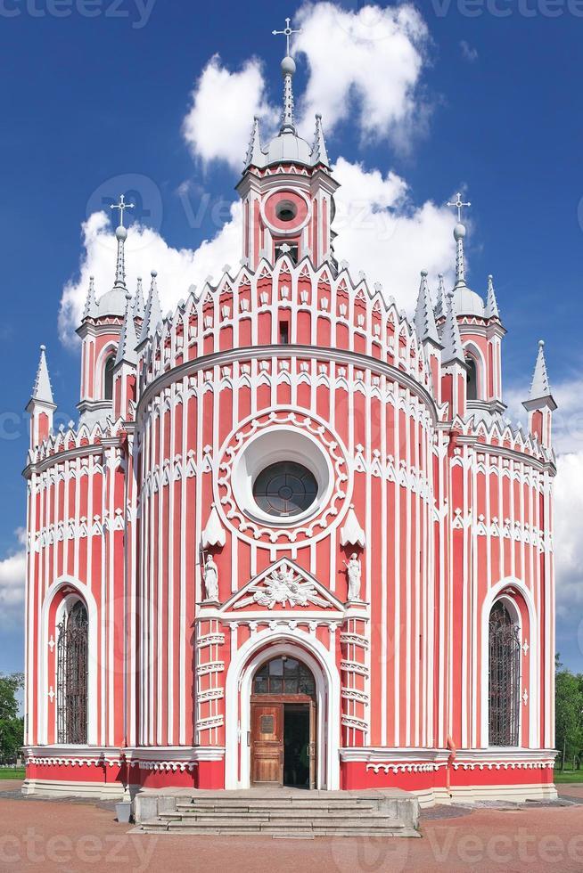 john the baptist birth (chesmen) church. sint-petersburg.russi foto