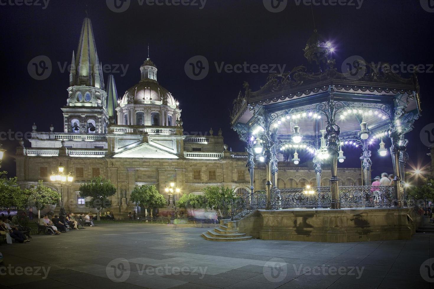 historische kerk in guadalajara foto