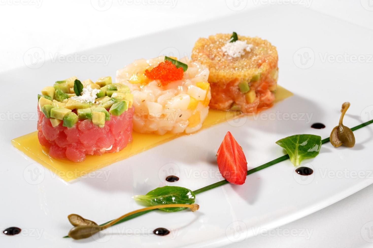 tartaar met tonijn foto