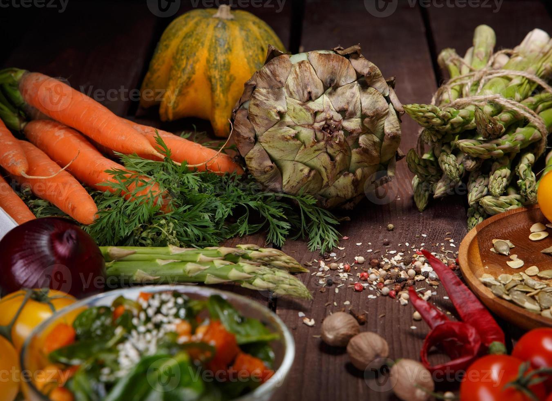 rijpe salade foto