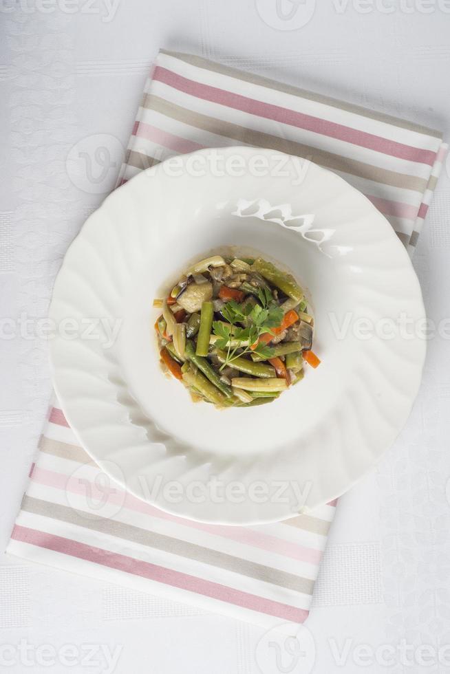 bak groenten voor een gezond dieet foto