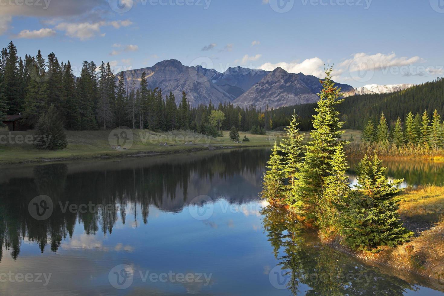 prachtig landschap. foto